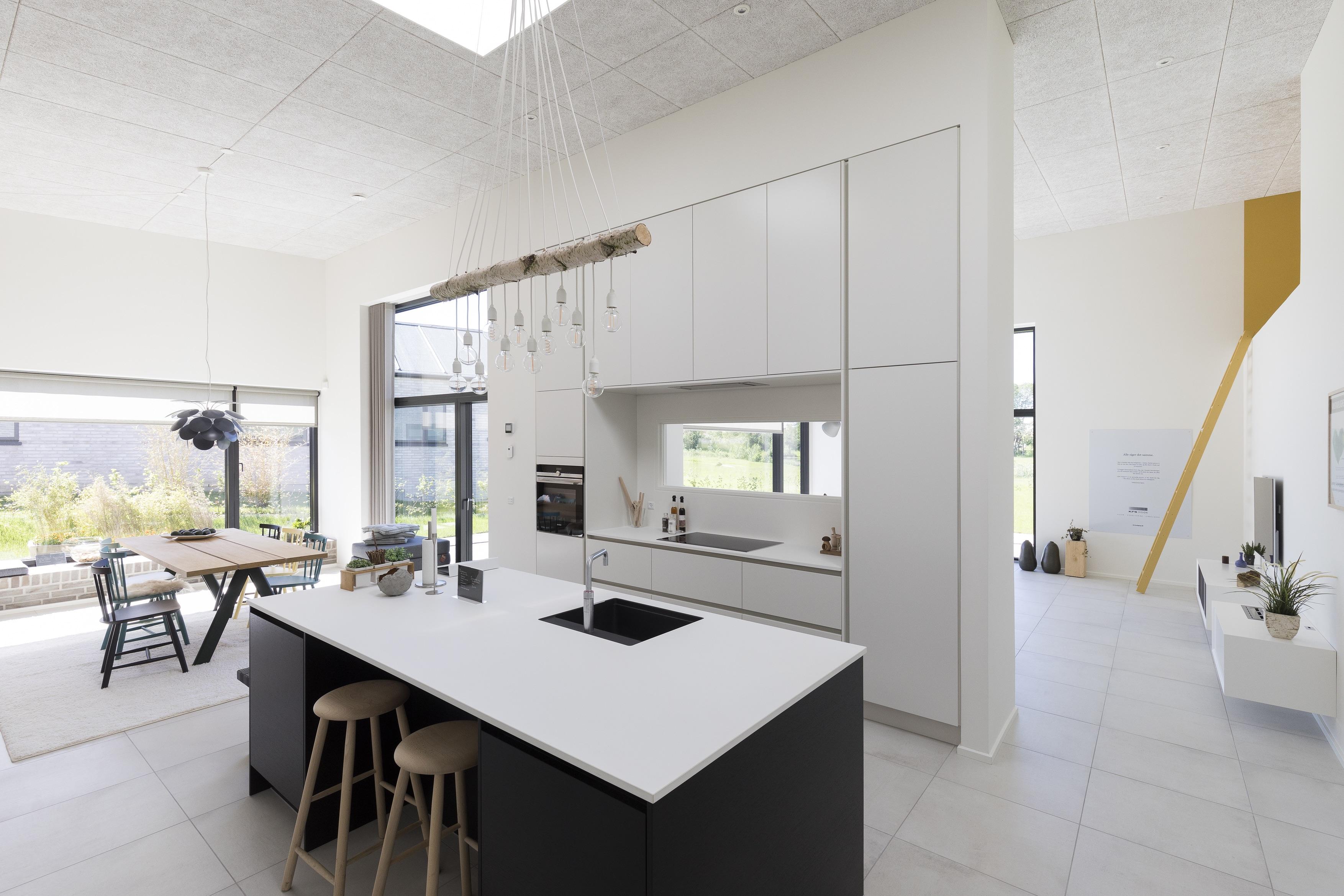 Una casa attiva con tetto piano for Progettista di piano casa online