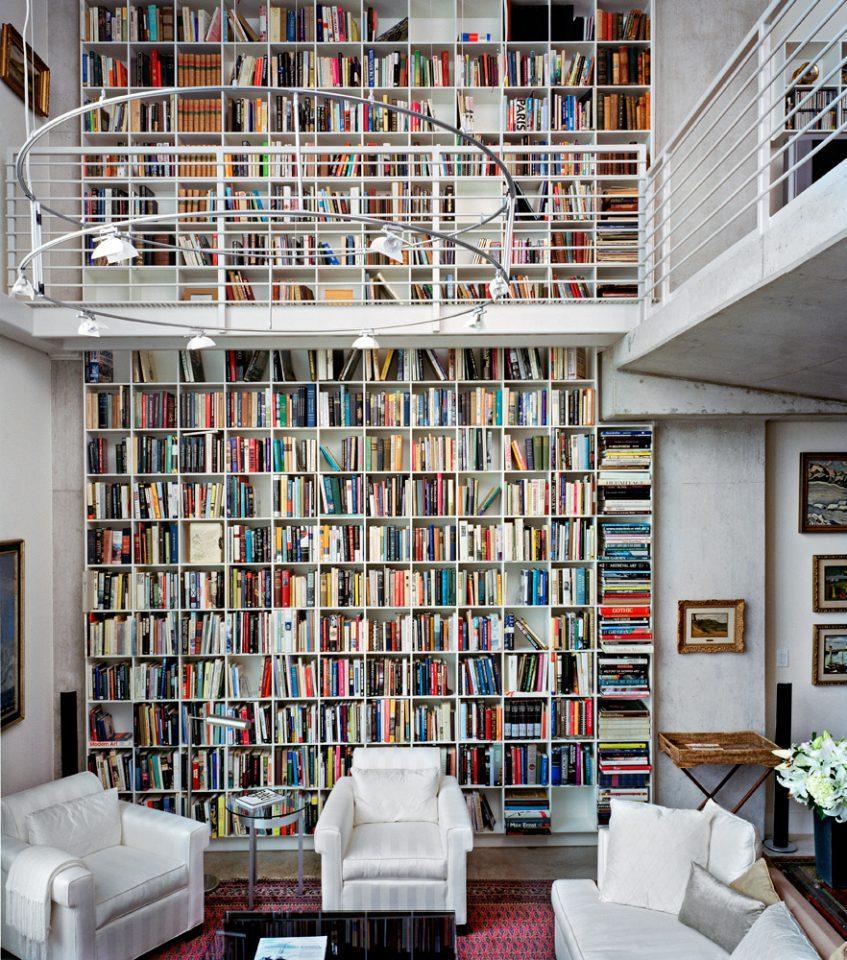 Libreria doppia altezza for Libreria velux