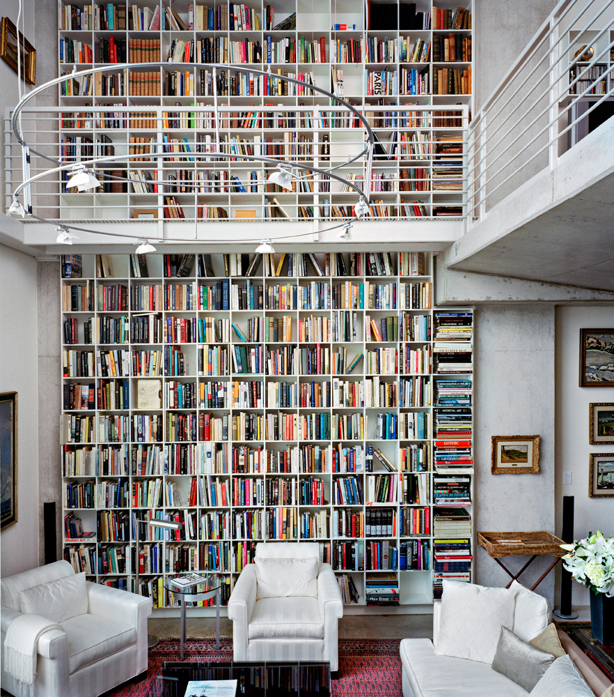 Libreria doppia altezza