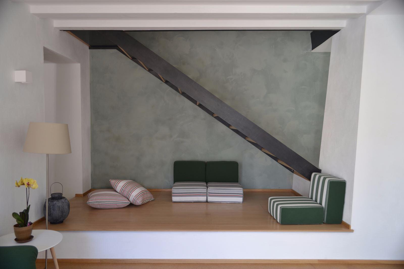 La ristrutturazione di una casa con soppalco for Piani di casa di balle di paglia di struttura in legno