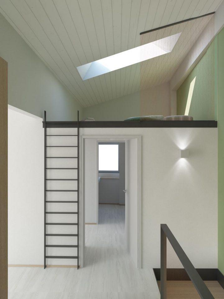 Tipi finestra for Un garage con soppalco