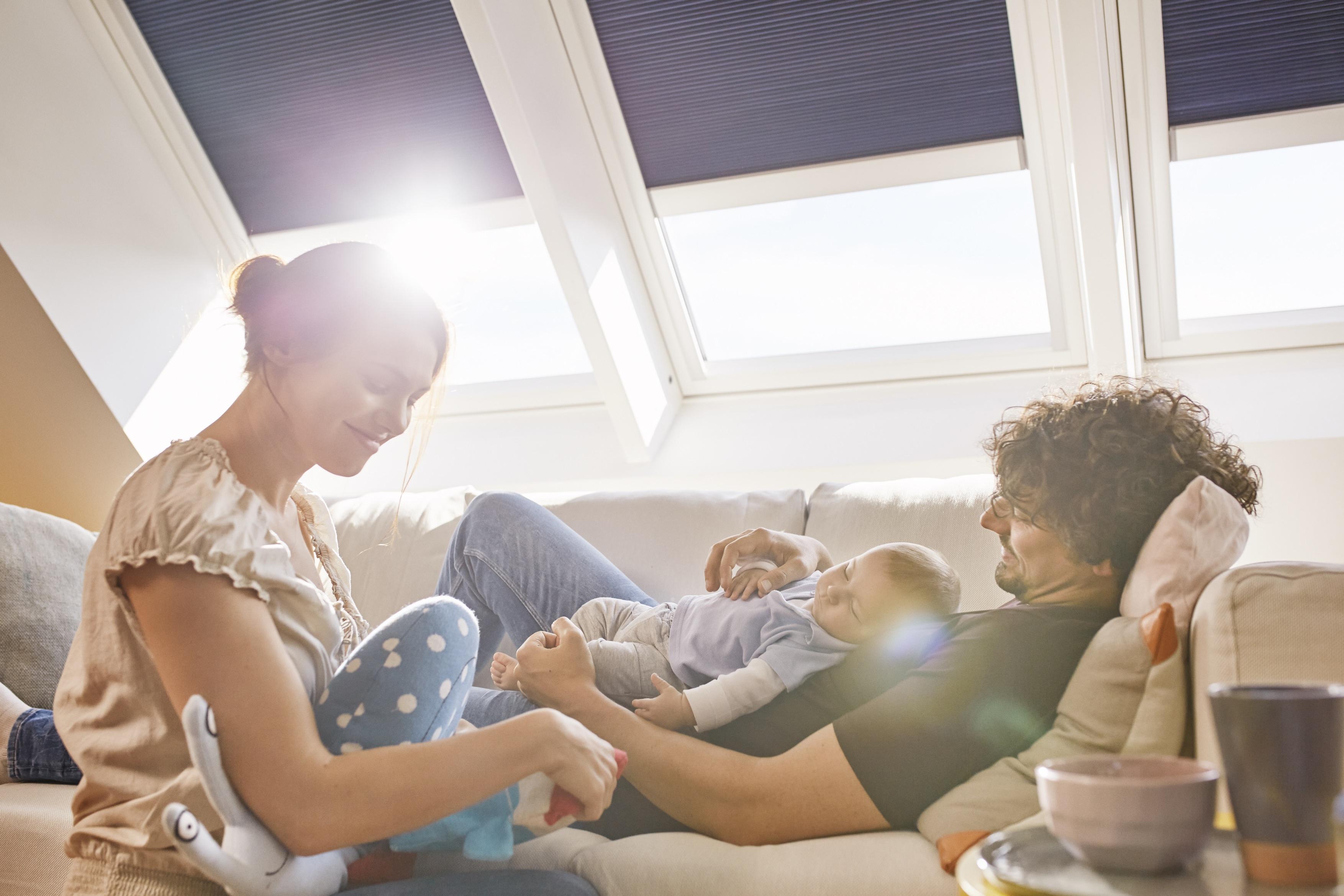 Luce solare in casa