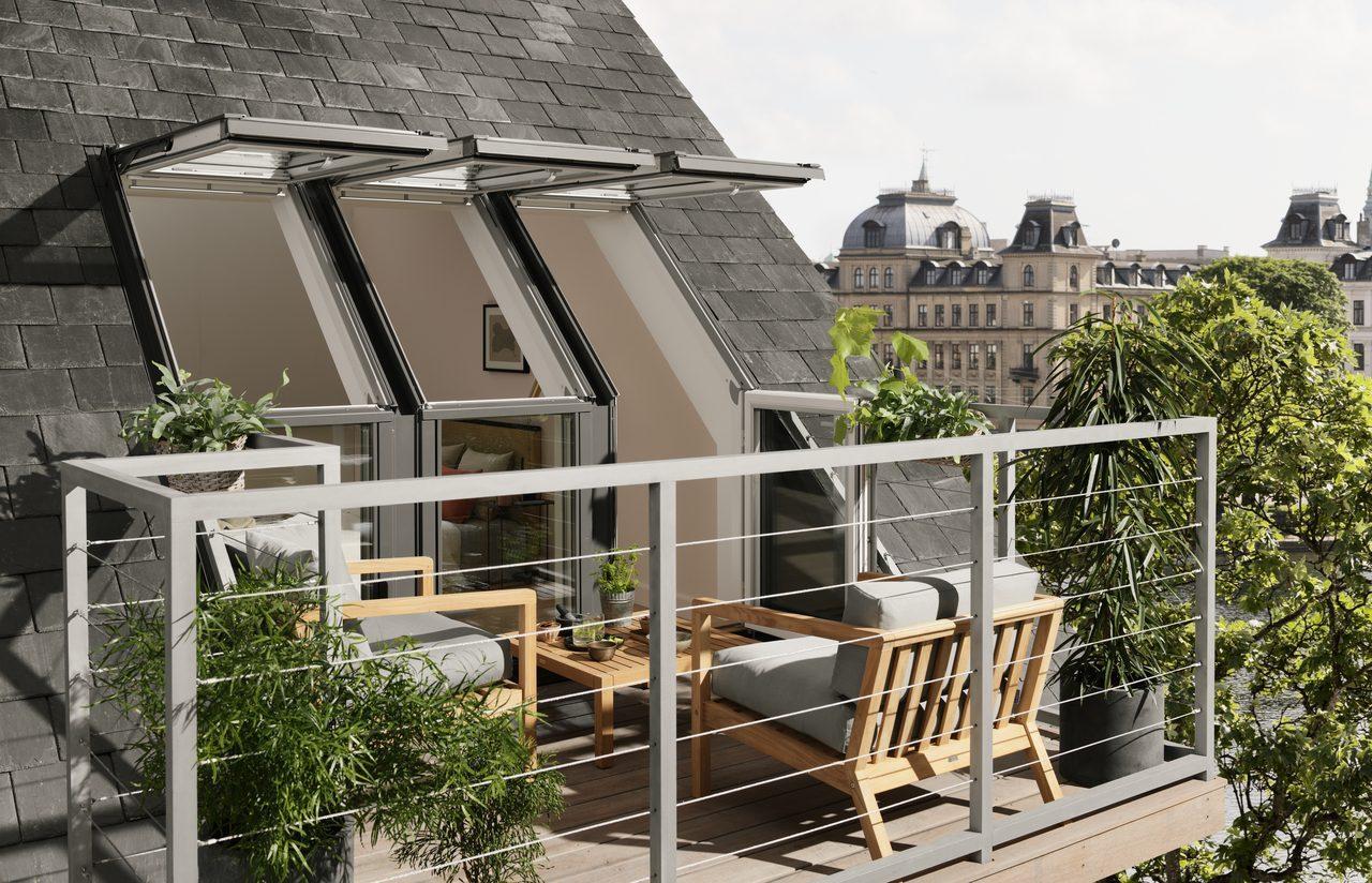 arredo terrazzi e balconi - Mansarda.it