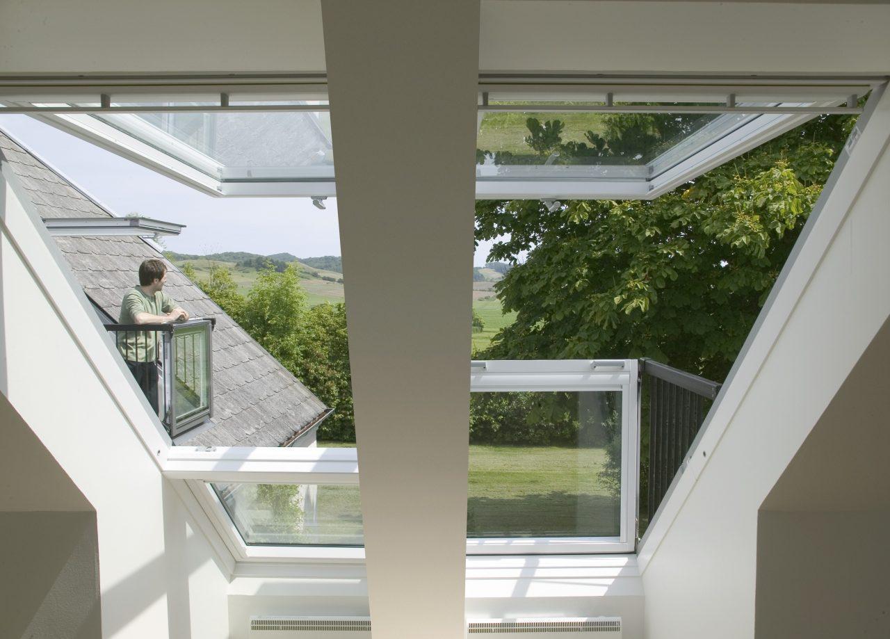 I mille modi di chiamare una finestra per tetti - Parapetto finestra ...