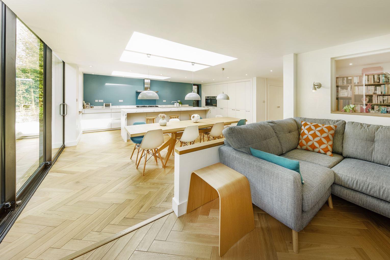 5 idee per sfruttare un ampliamento - Sala e cucina ...