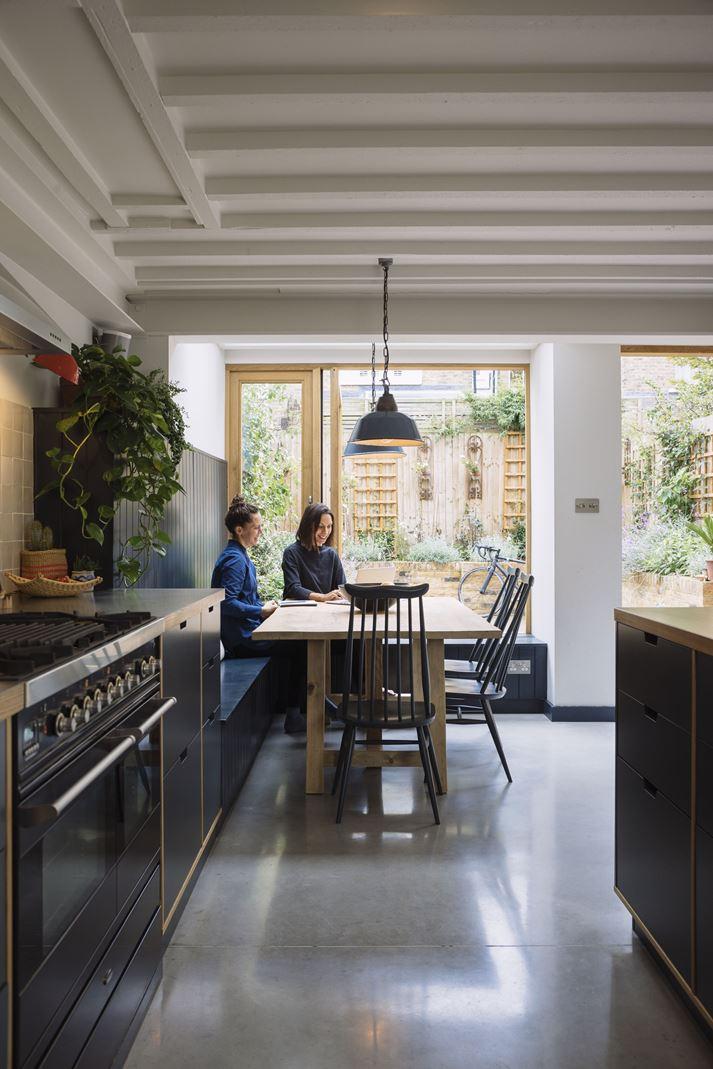 cucina e sala da pranzo - Mansarda.it