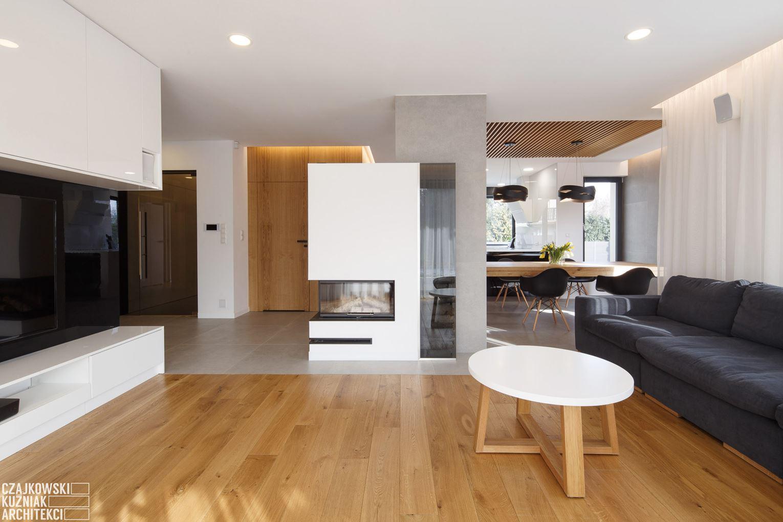Un appartamento a due piani con zona relax in mansarda mansarda