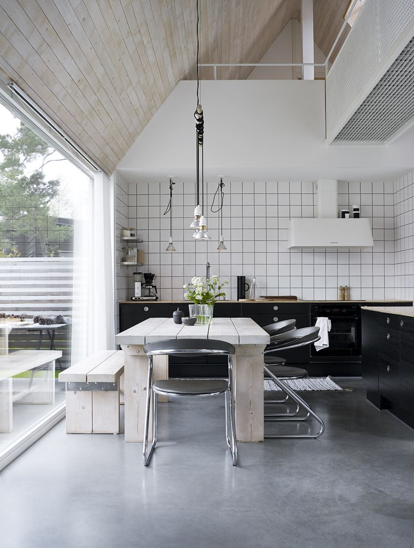 cucina e sala pranzo - Mansarda.it