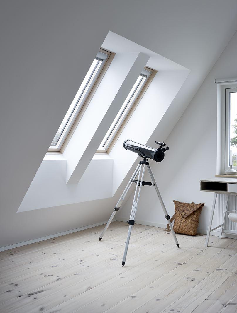 Sala relax con finestra da tetto - Quanto costa una finestra velux ...