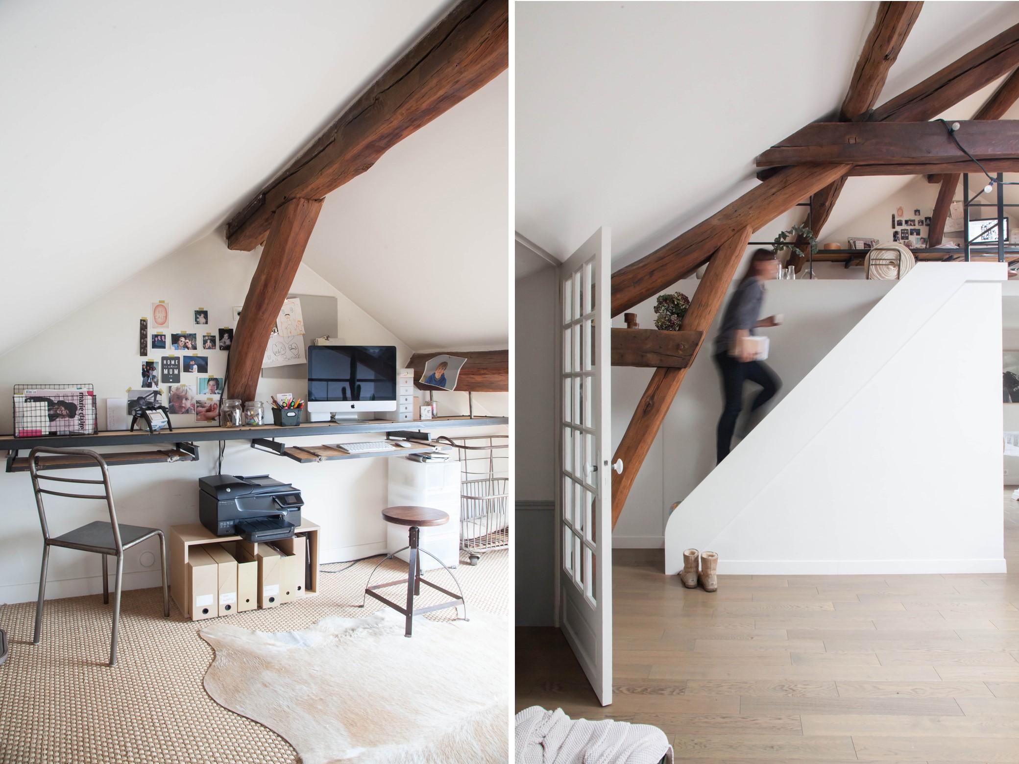 ufficio e scala