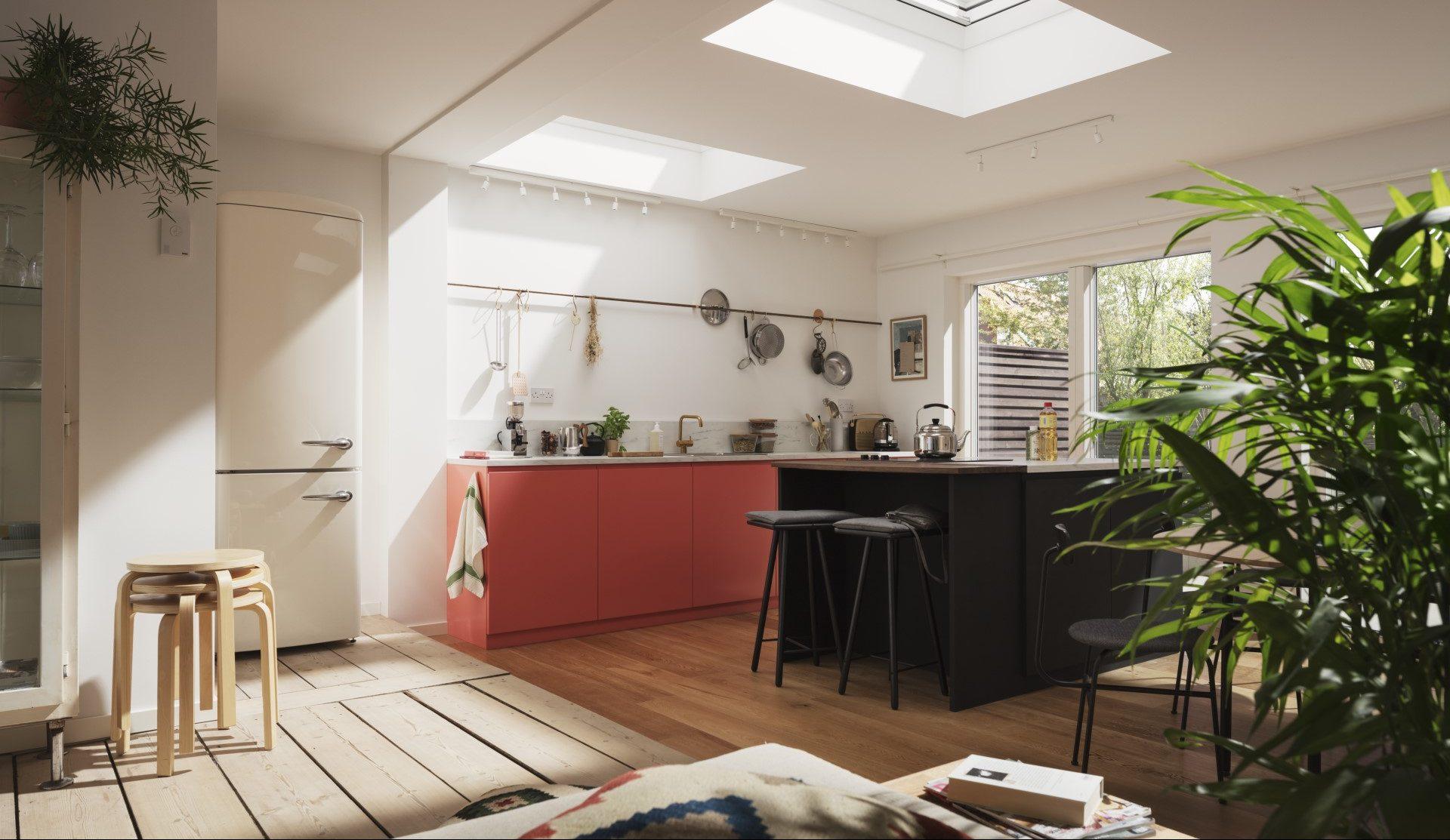 Luce naturale ed esposizione della casa mansarda