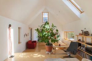 open space con finestre