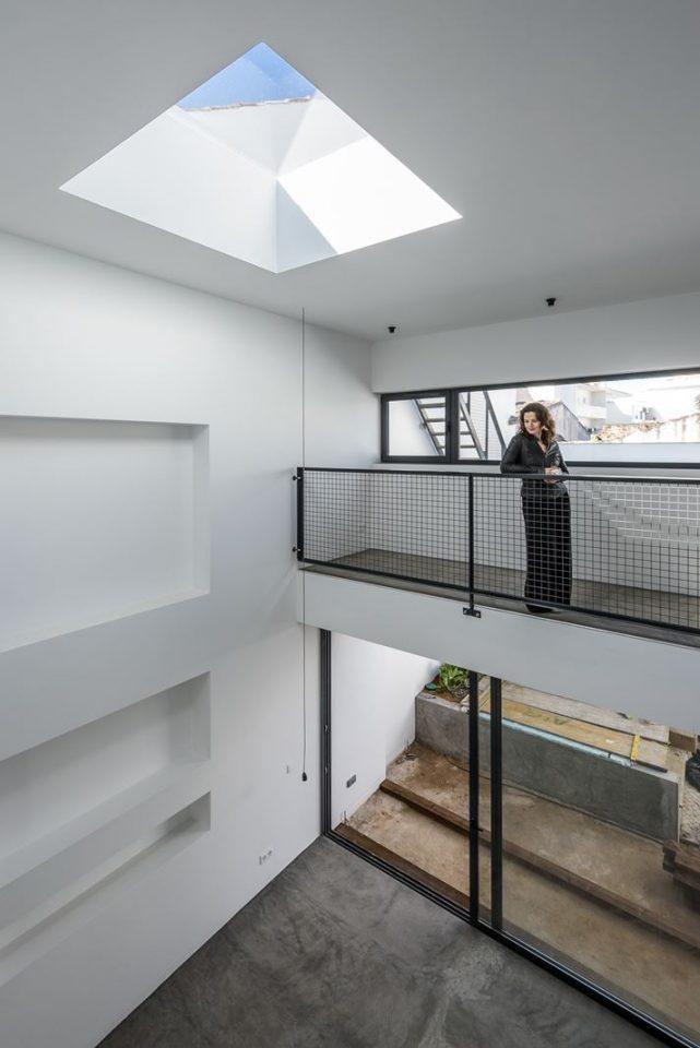 Open space doppia altezza con lucernario for Lucernario mansarda