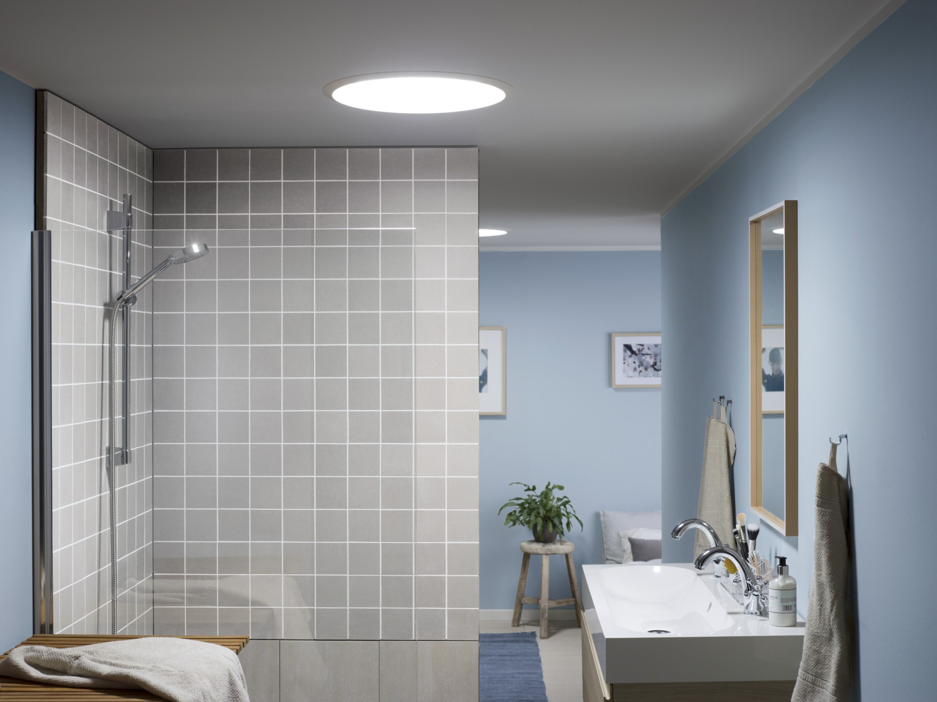 Come rendere luminoso un bagno cieco mansarda.it