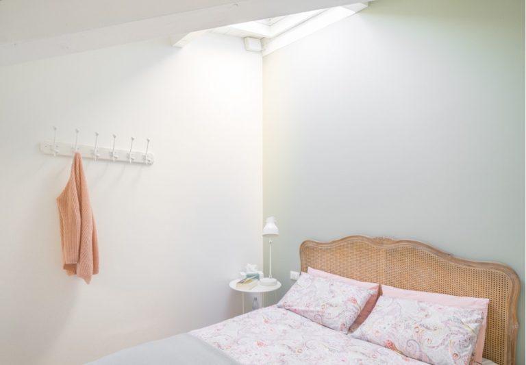 camera da letto in mansarda