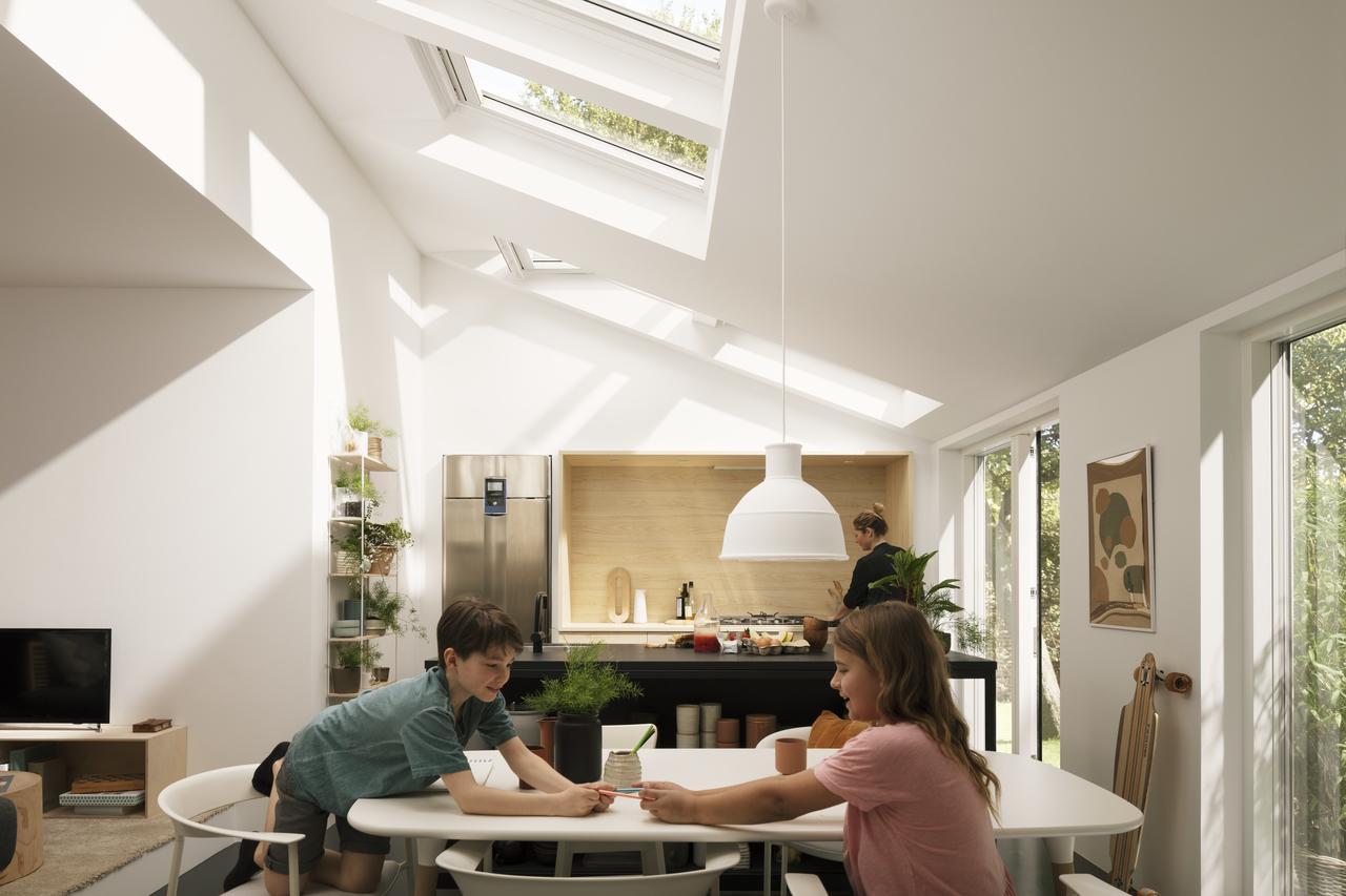 luce naturale in cucina