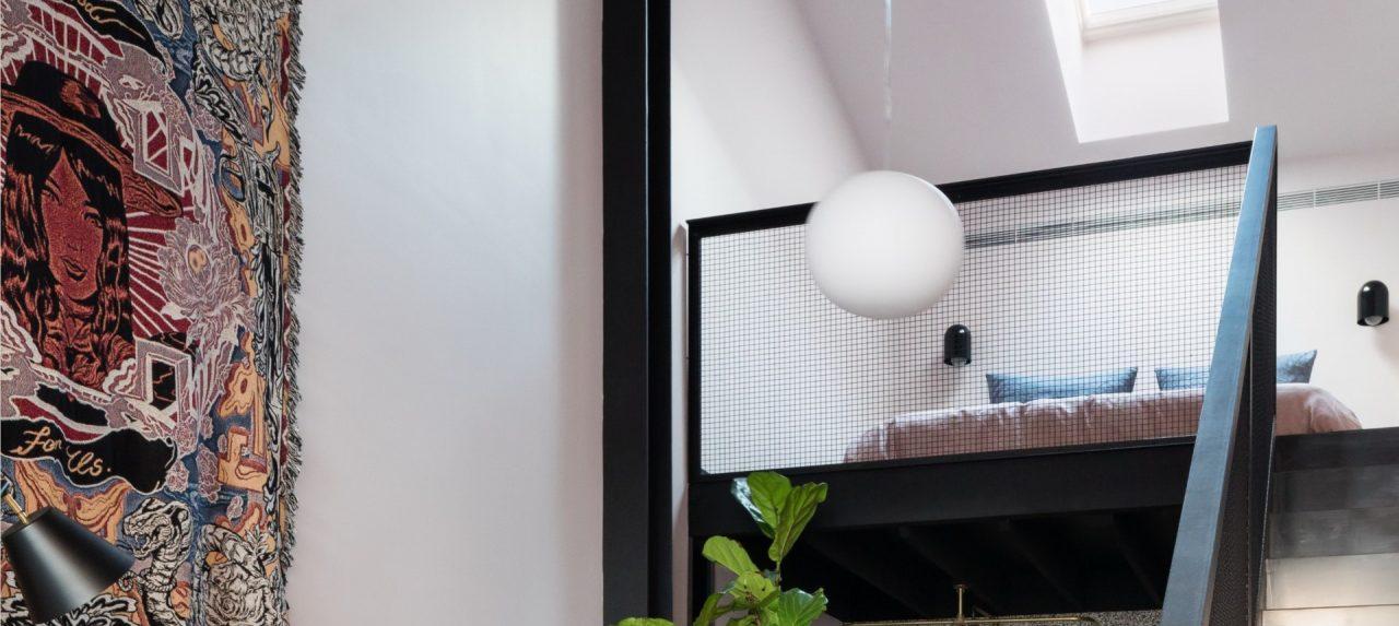 soppalco con finestra