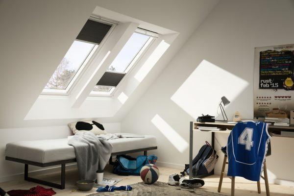 Una camera con tanta luce per studiare