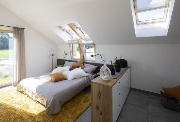 Camera da letto ventilata