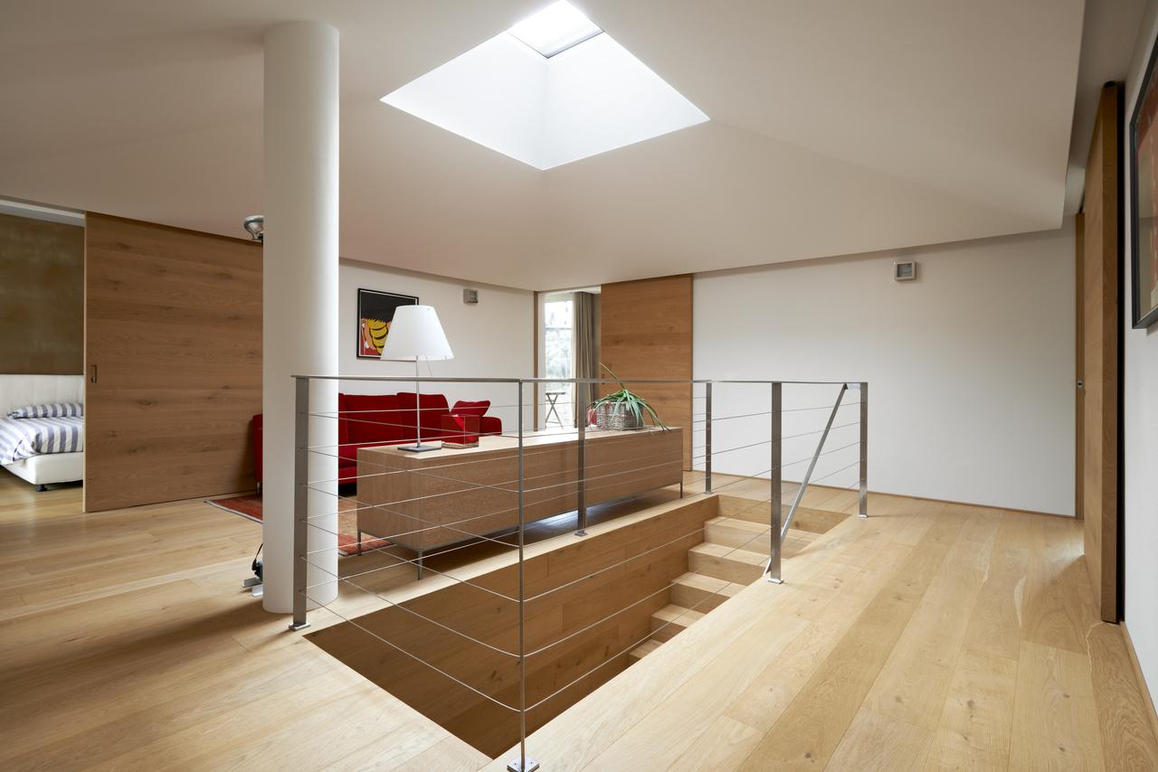 scala con finestra