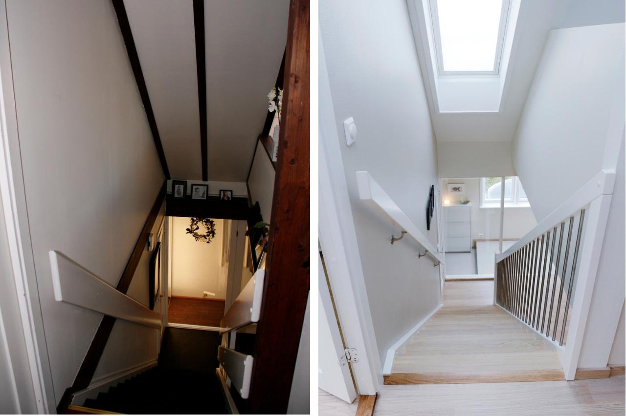 scala prima e dopo