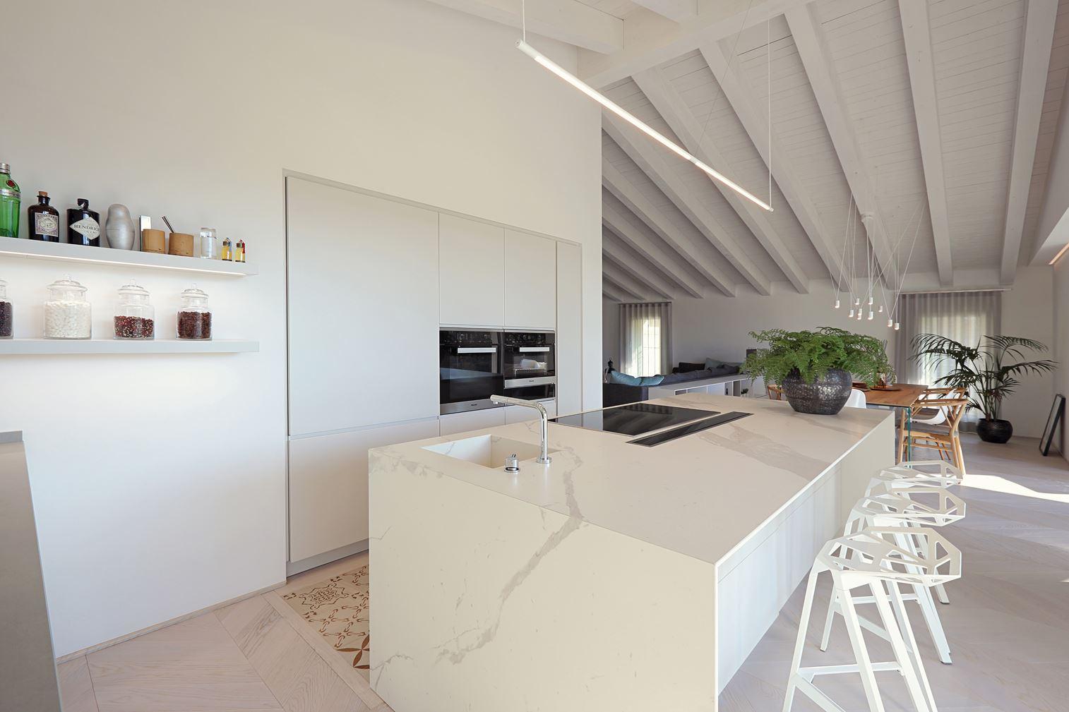 cucina e living - Mansarda.it