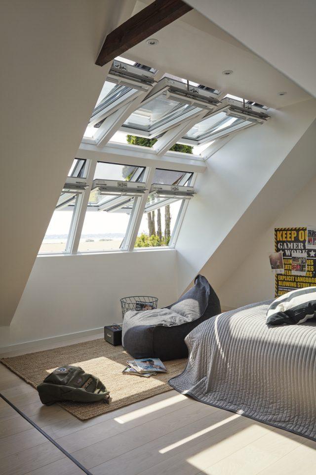 Finestre camera da letto for Finestre sottotetto