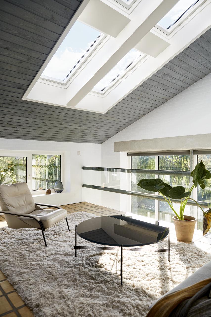 soppalco con finestra integra