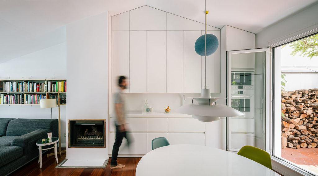 cucina e salotto - Mansarda.it
