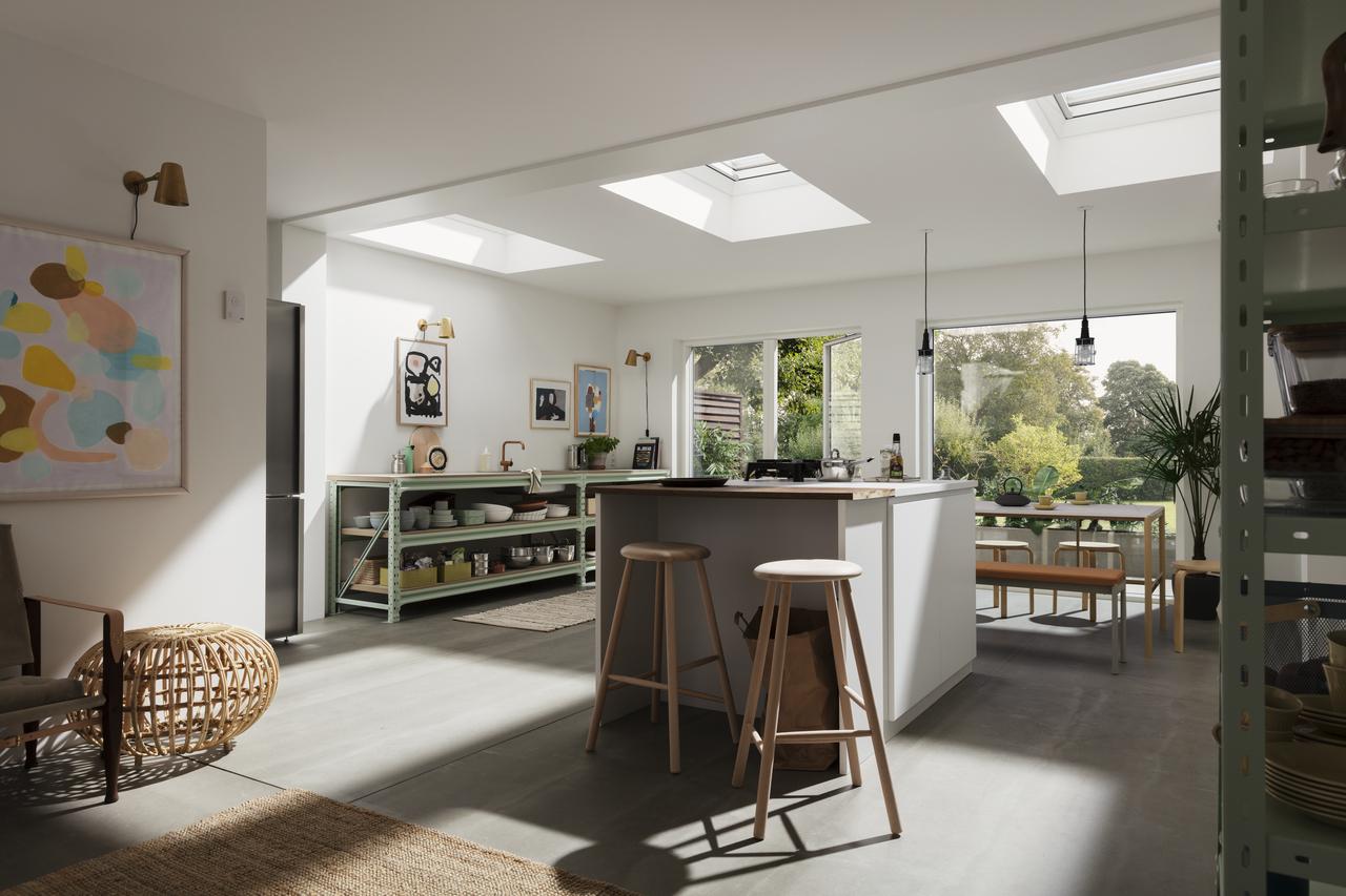 Differenza tra tetto piano e tetto inclinato in un ...