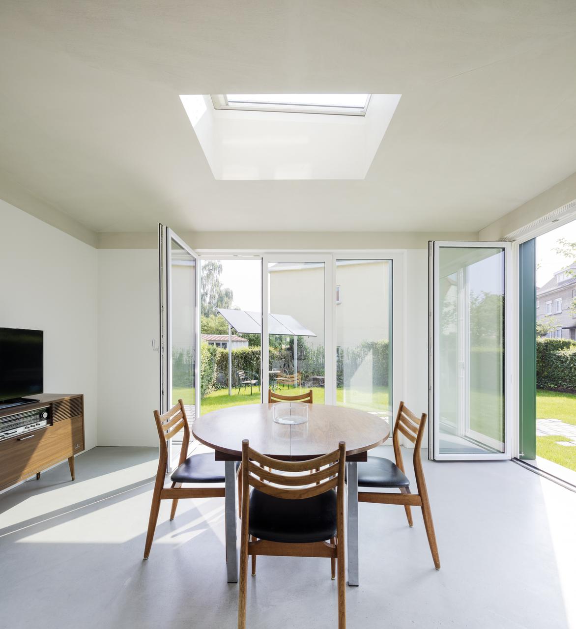 finestra tetto piano estensione