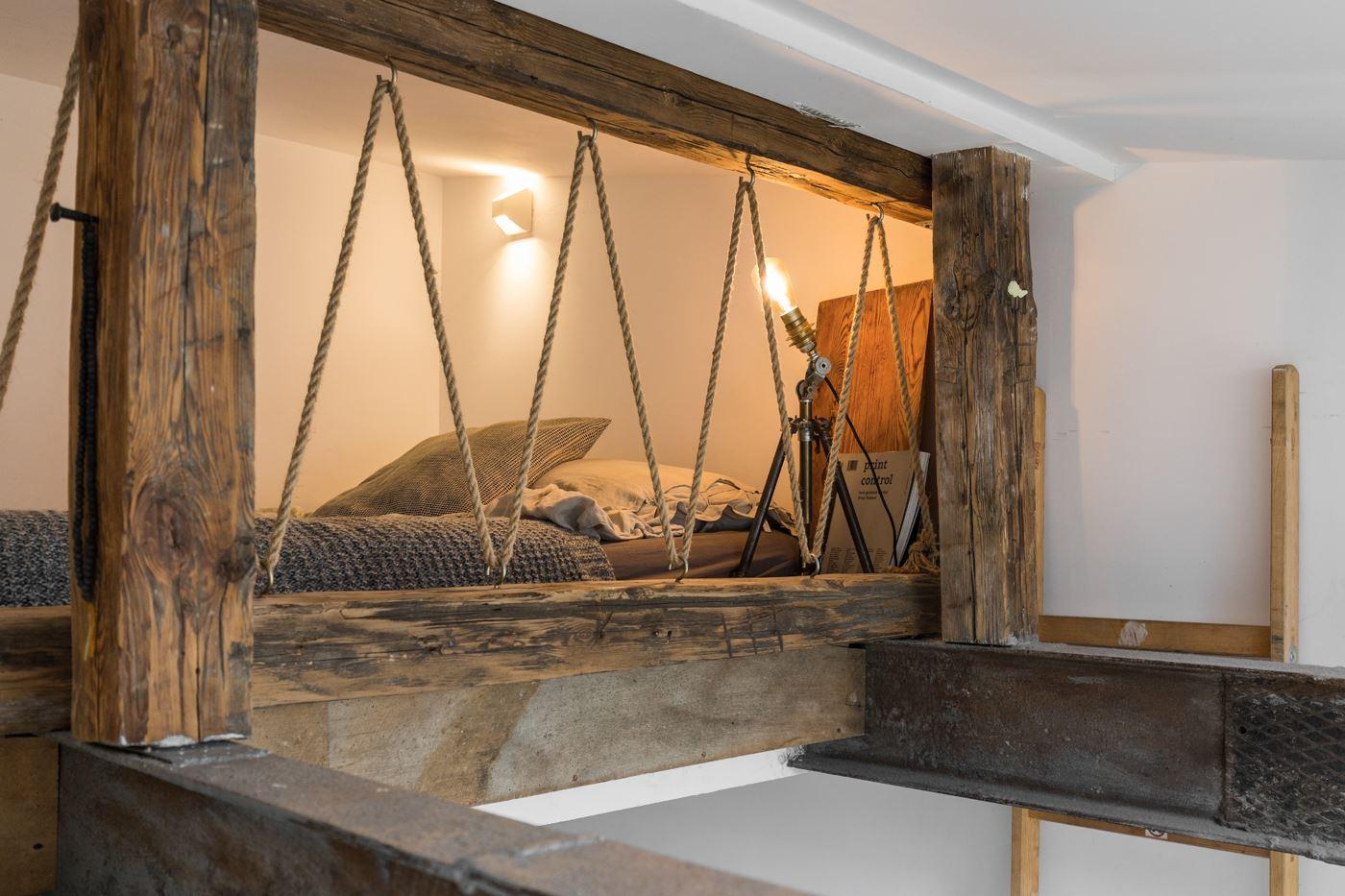 Piccoli Soppalchi In Legno una piccola casa luminosa con soppalco - mansarda.it