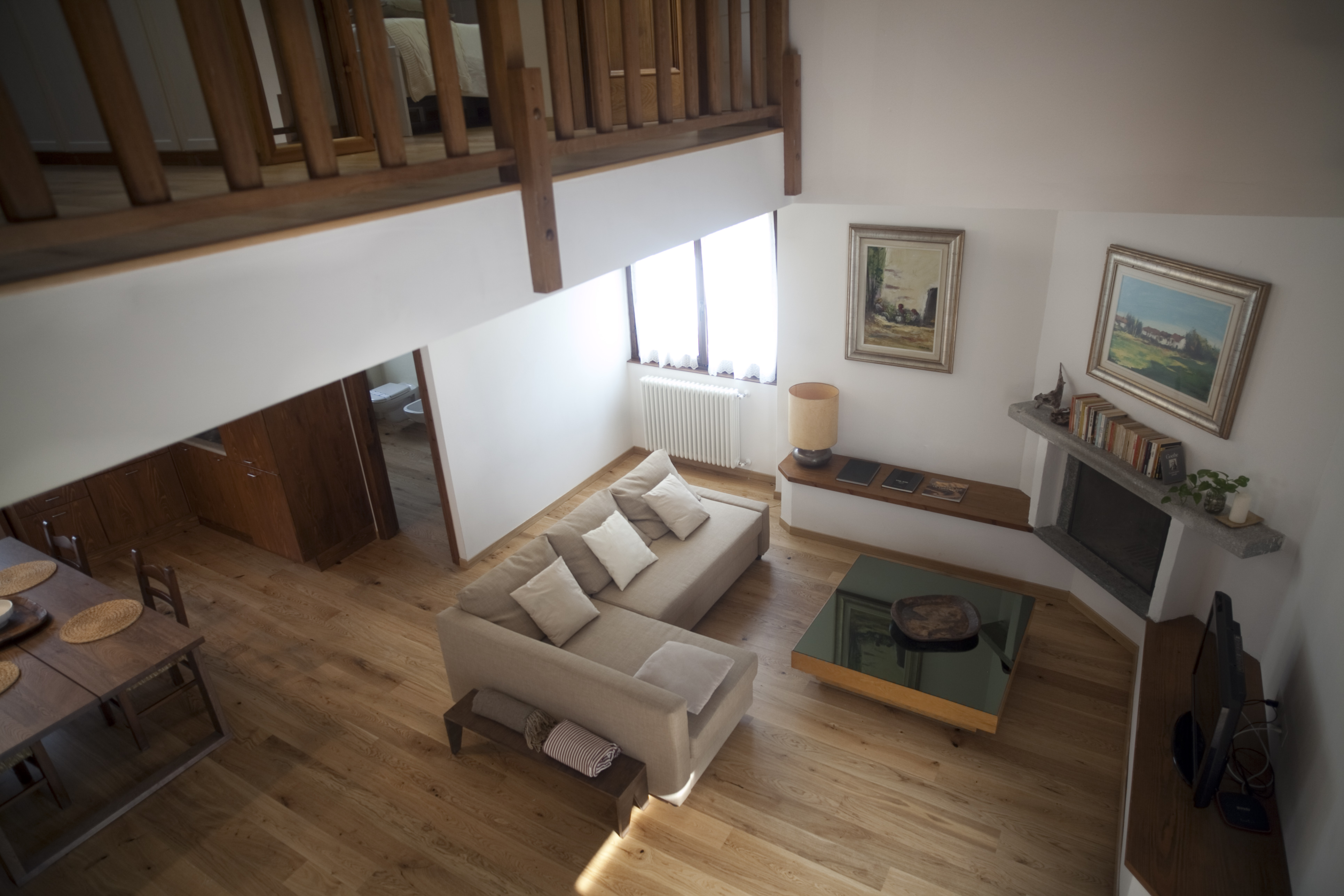 appartamento doppia altezza