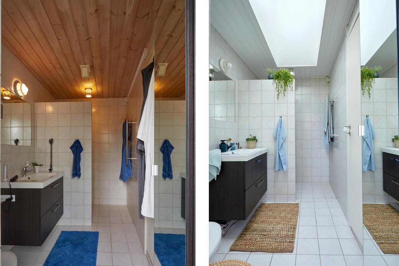 bagno prima e dopo