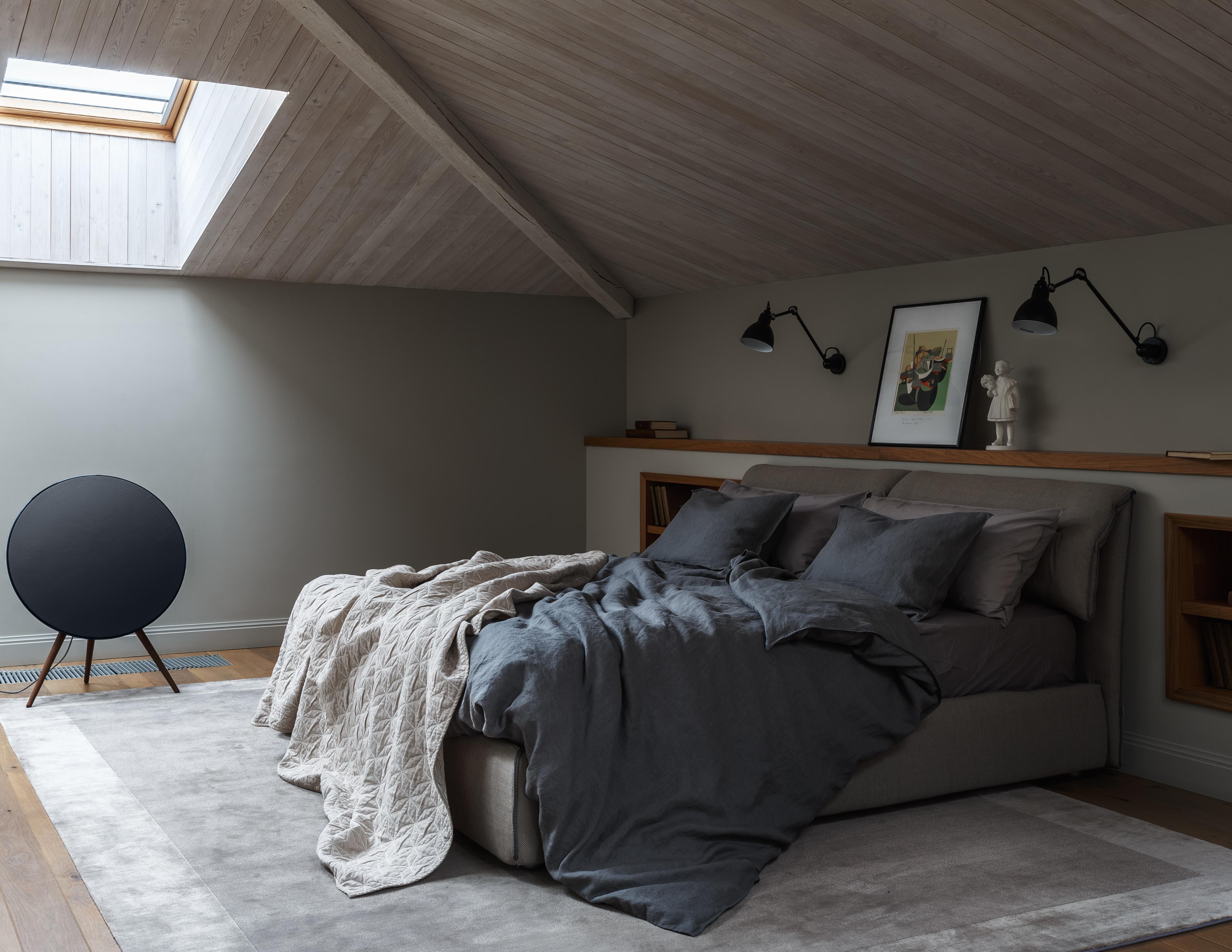Come creare una camera in mansarda: 6 soluzioni eleganti e ...
