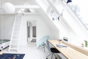camera con scrivania