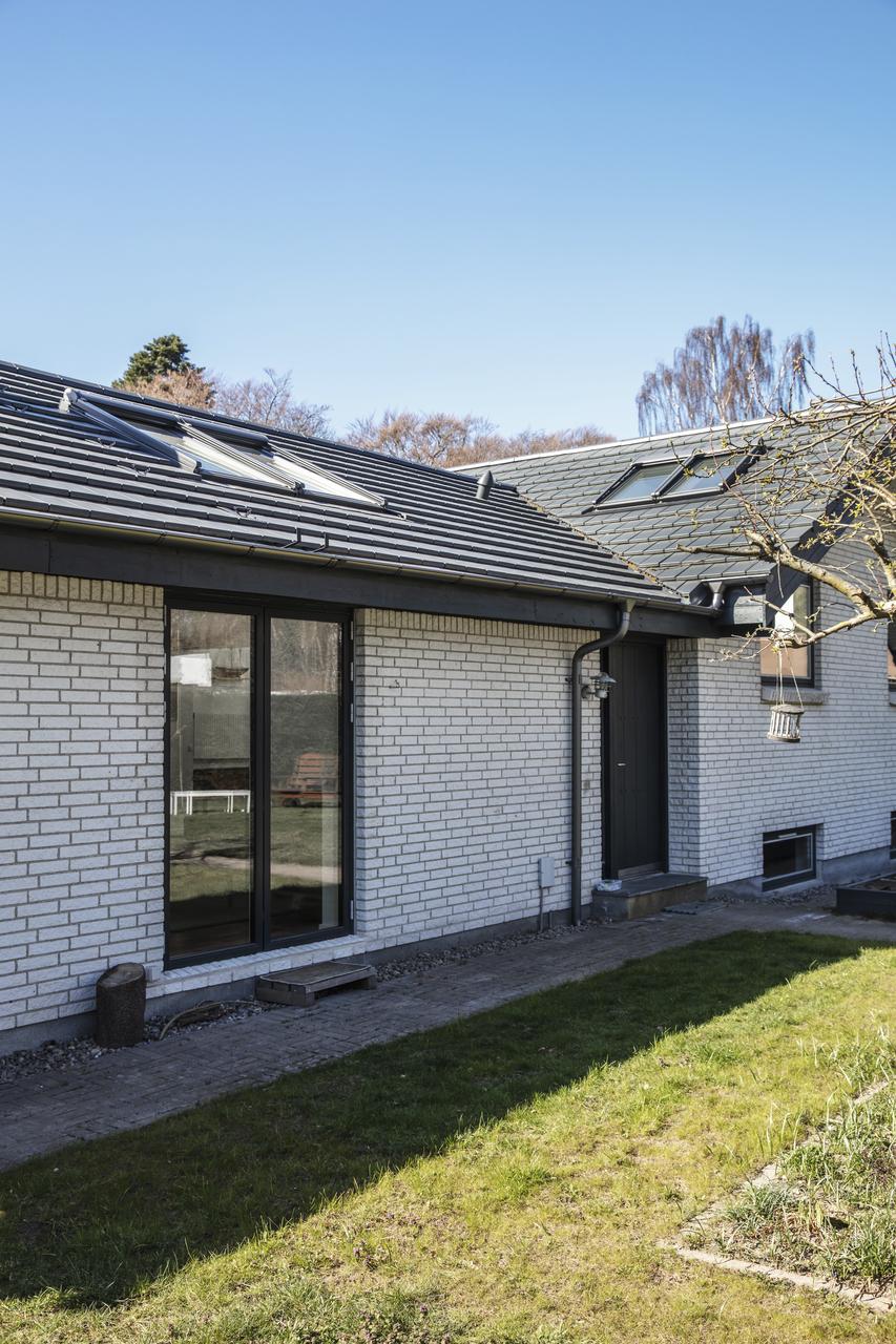 esterno rinnovato con finestre sul tetto