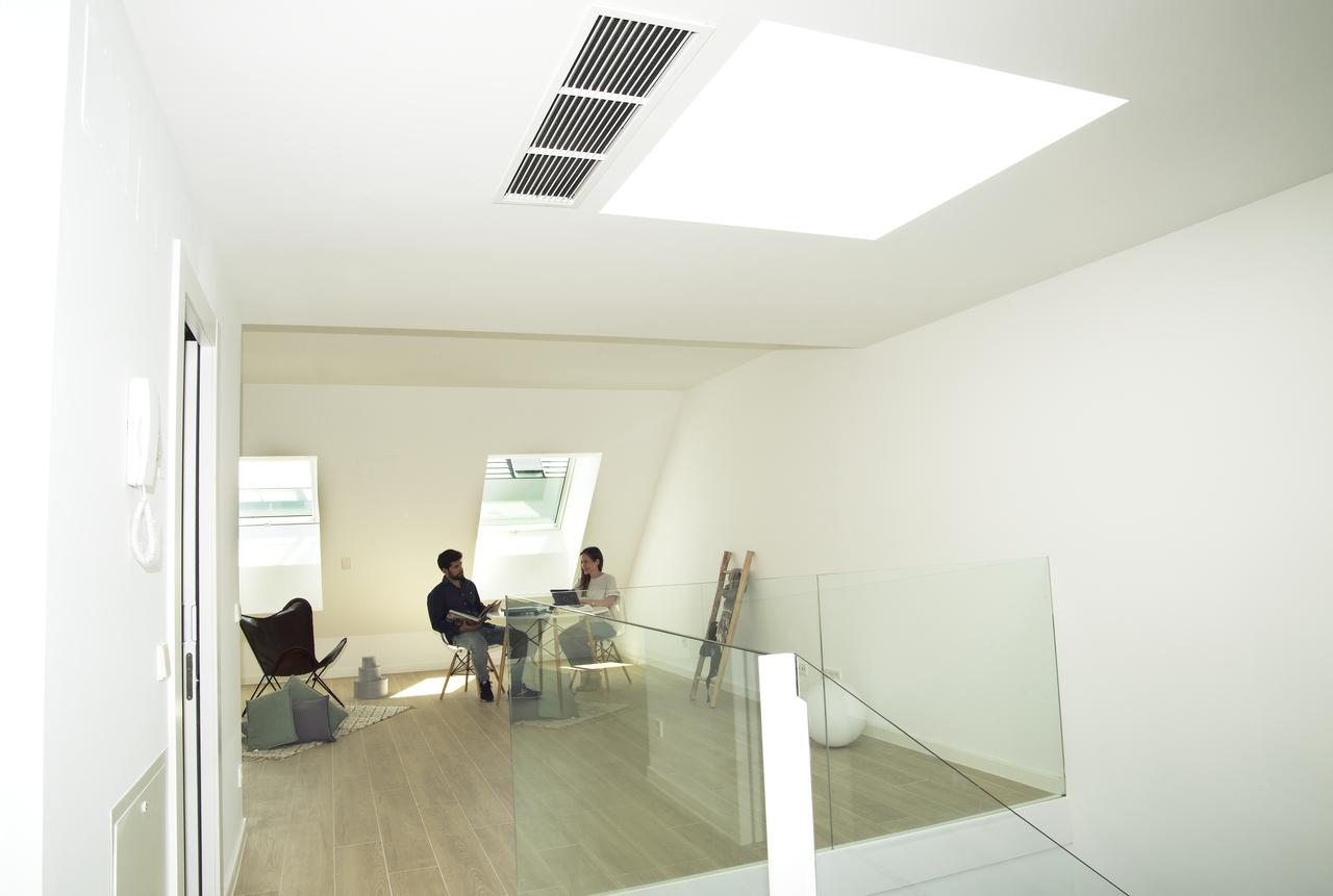 soppalco con studio