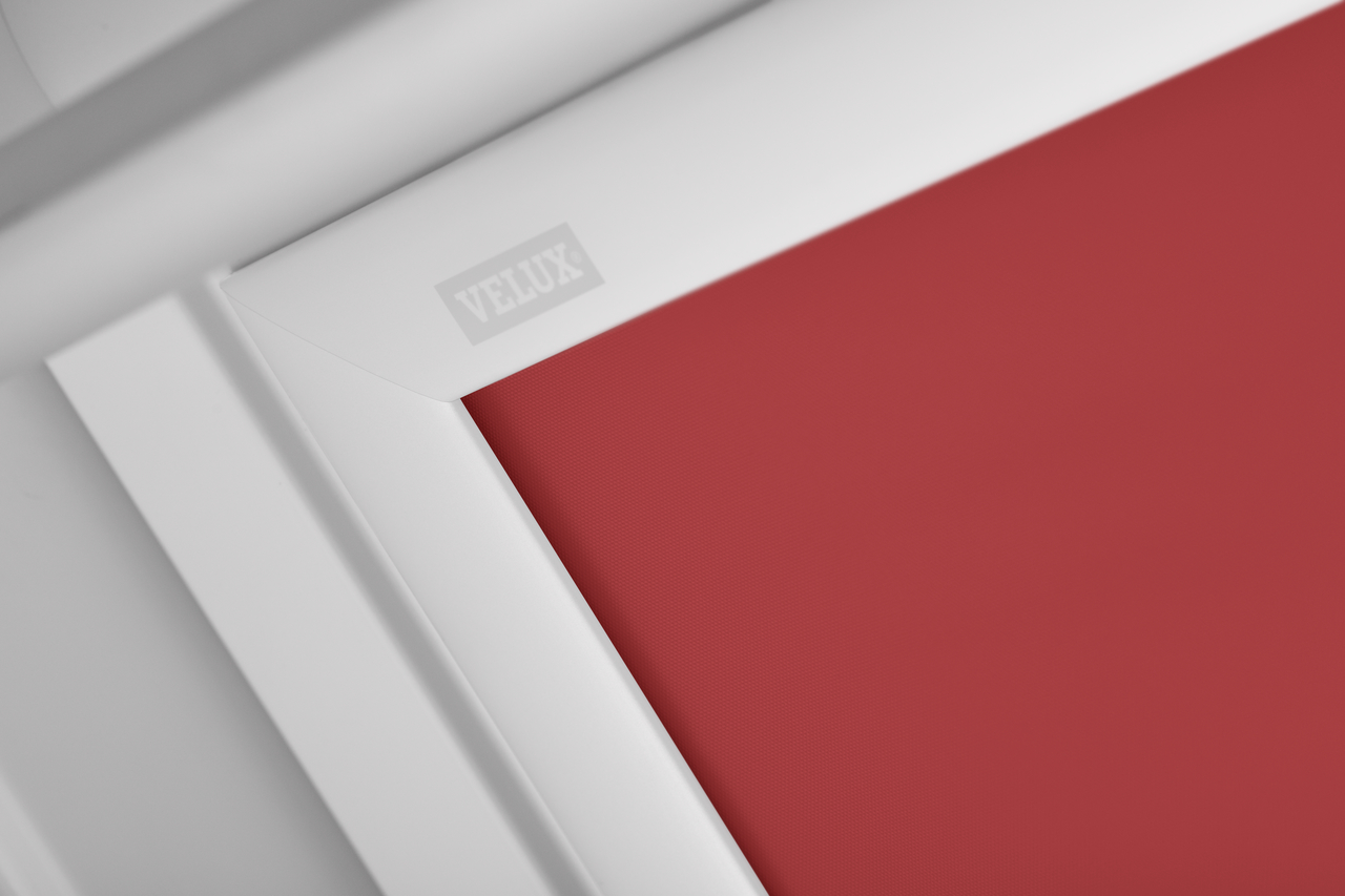 tenda oscurante rossa