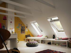 camera con finestre antieffrazione