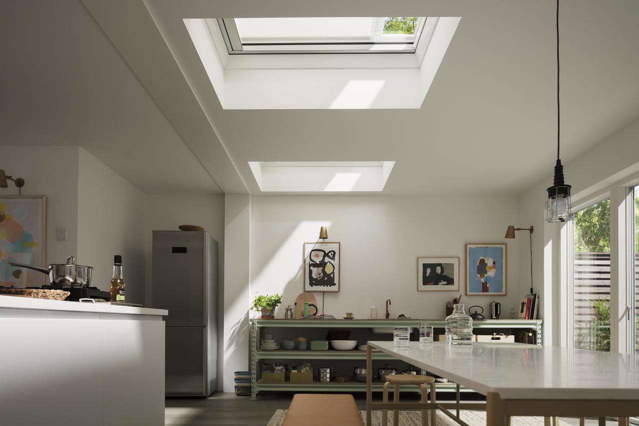 cucina tetto piano