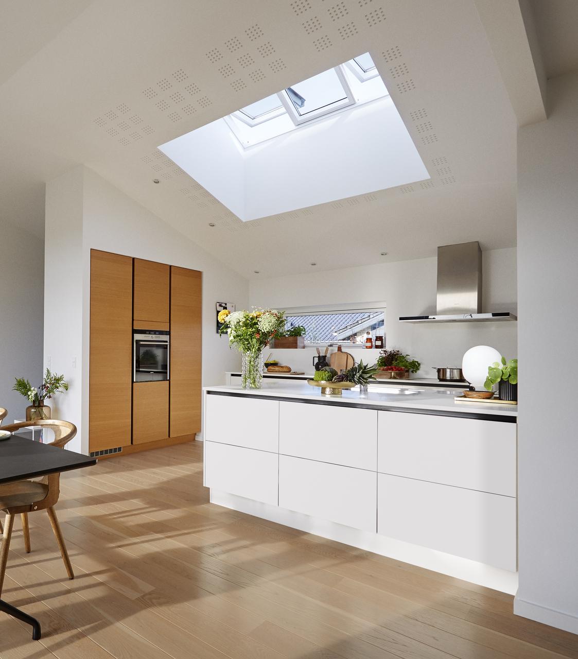 luce e areazione in cucina