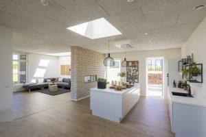 open space tetto piano