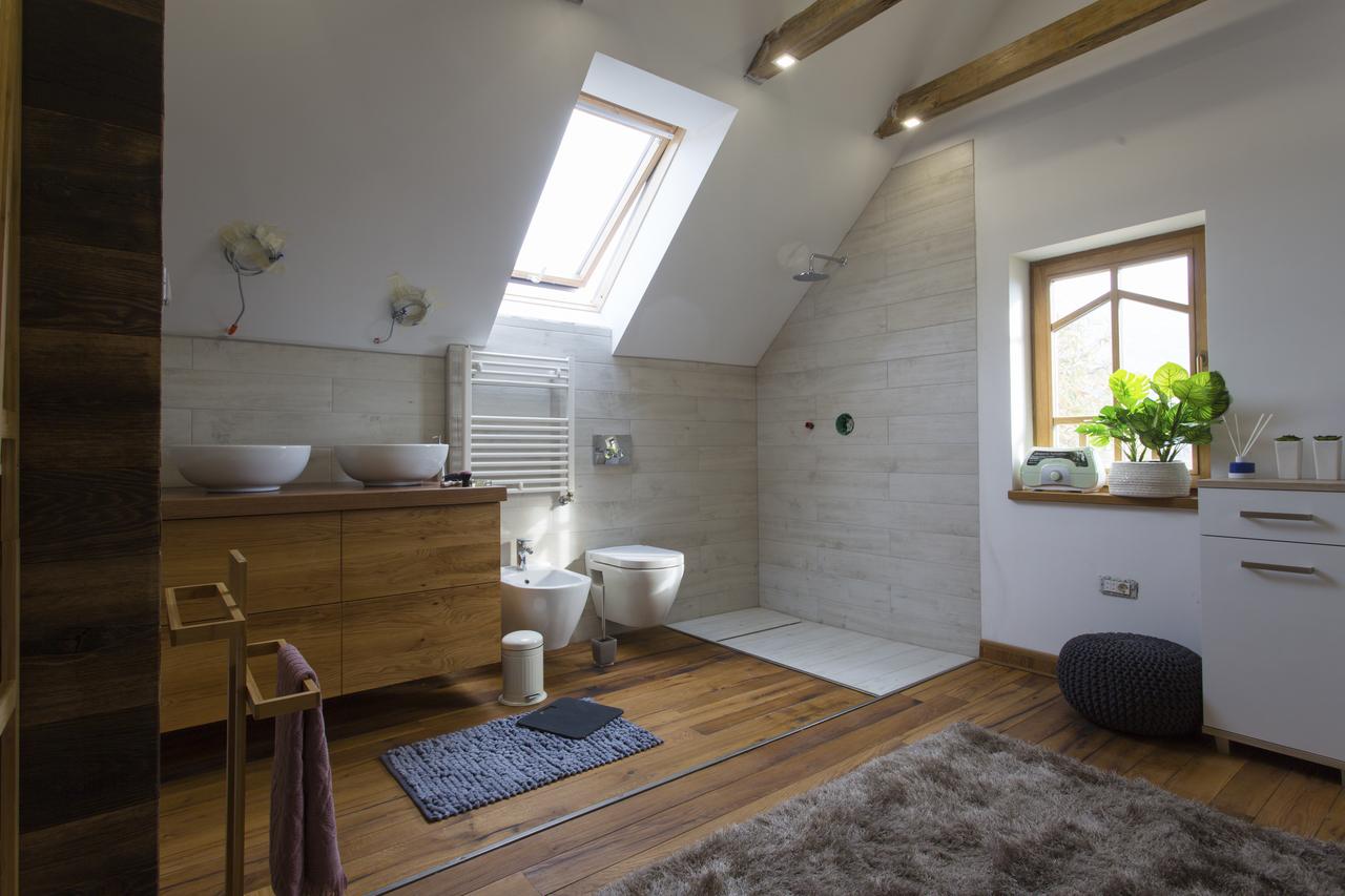 bagno in mansarda