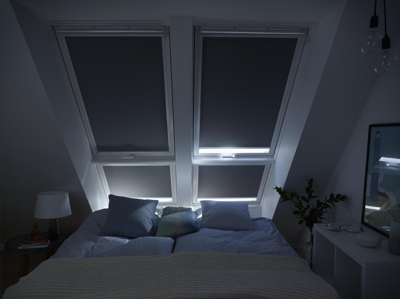 camera da letto oscurata