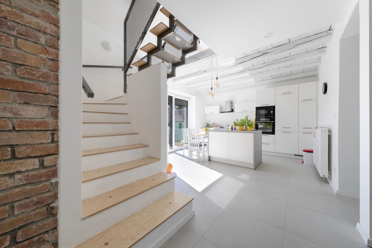 cucina con scale