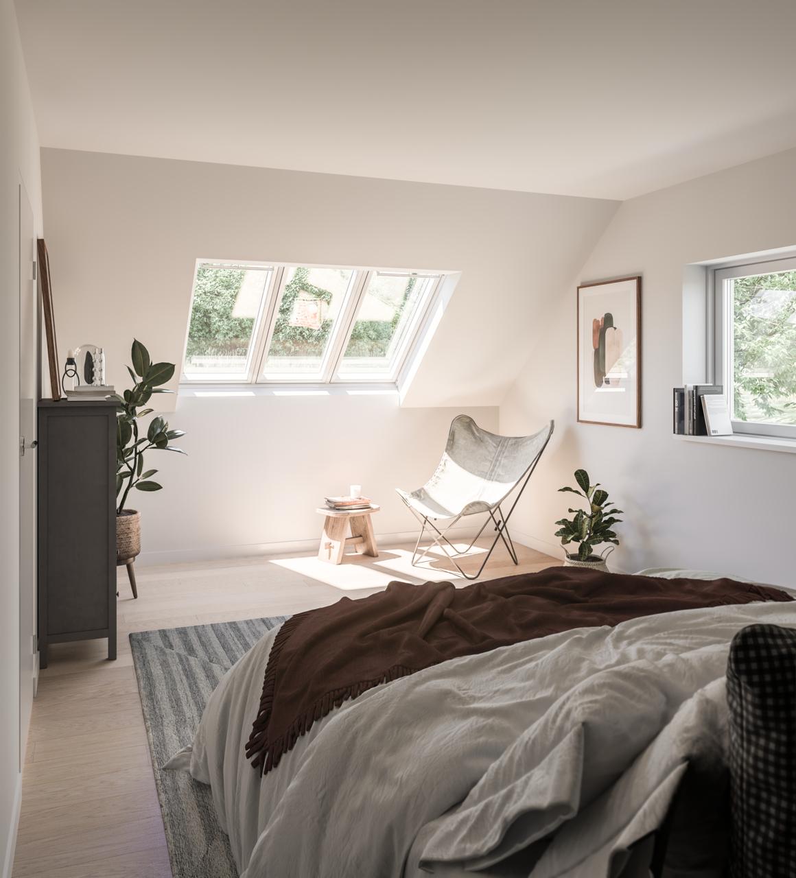 finestre per tetti in camera