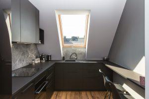 finestra per tetti in cucina