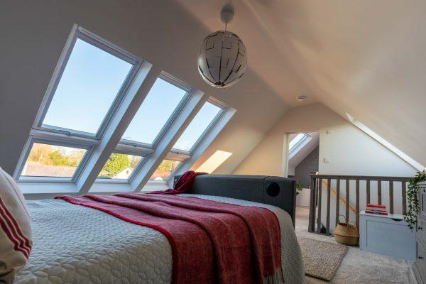 camera sotto al tetto