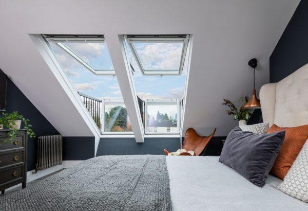 camera con balconi cabrio
